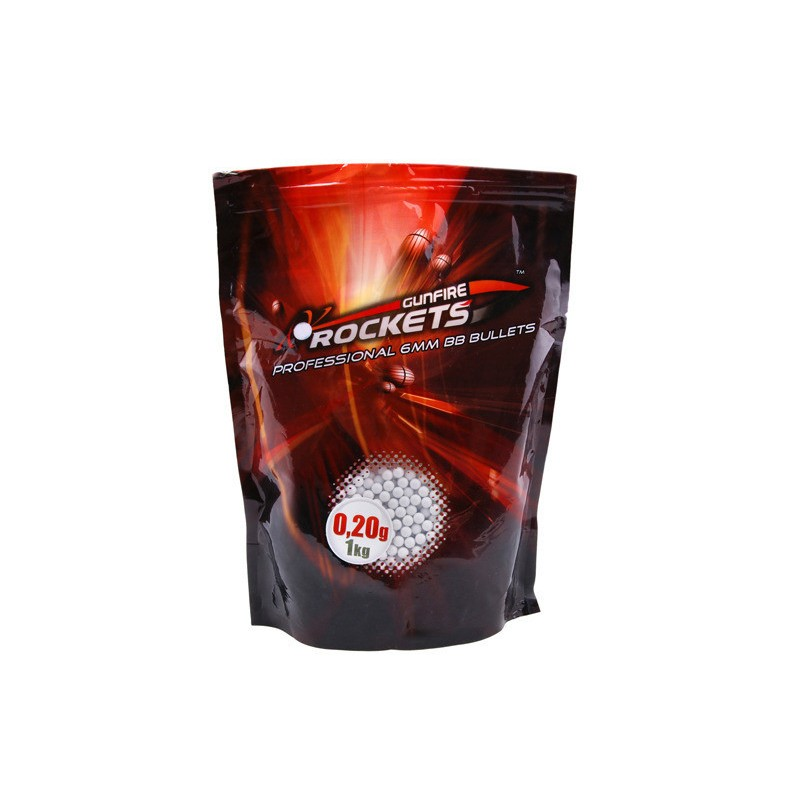 Rockets Professional 0,20g BBs - 1kg (5000rds)