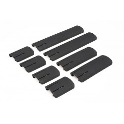 Set of RIS rail covers - black