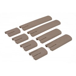 Set of RIS rail covers - tan