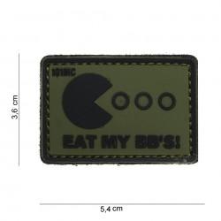 PATCH 3D PVC EAT MY BB'S...