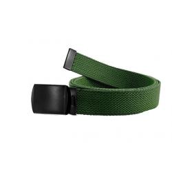 Web belt with black buckle...