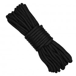 UTILITY ROPE 7 MM BLACK - 15m