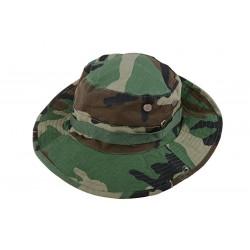 Boonie Hat Cap Camo Woodland