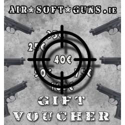 Gift Voucher 40 euro