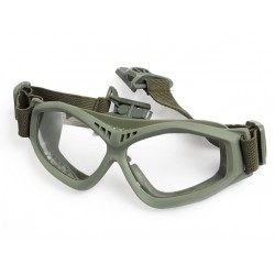 Helmet Mounted Tactical Goggle - OD