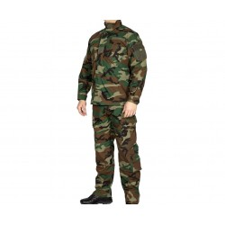 Army Navy Camo Woodland ACU Uniform Set