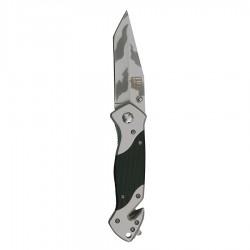 Knife + clip H254G10 black