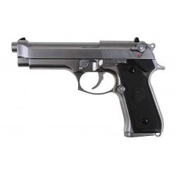 WE M92 v.2 metal pistol replica - silver