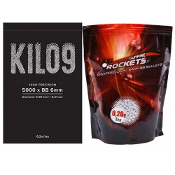 Professional 0,20g BBs - 1kg (5000rds)