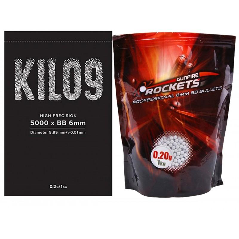 Professional 0,20g BBs - 1kg (5000rds) pellets