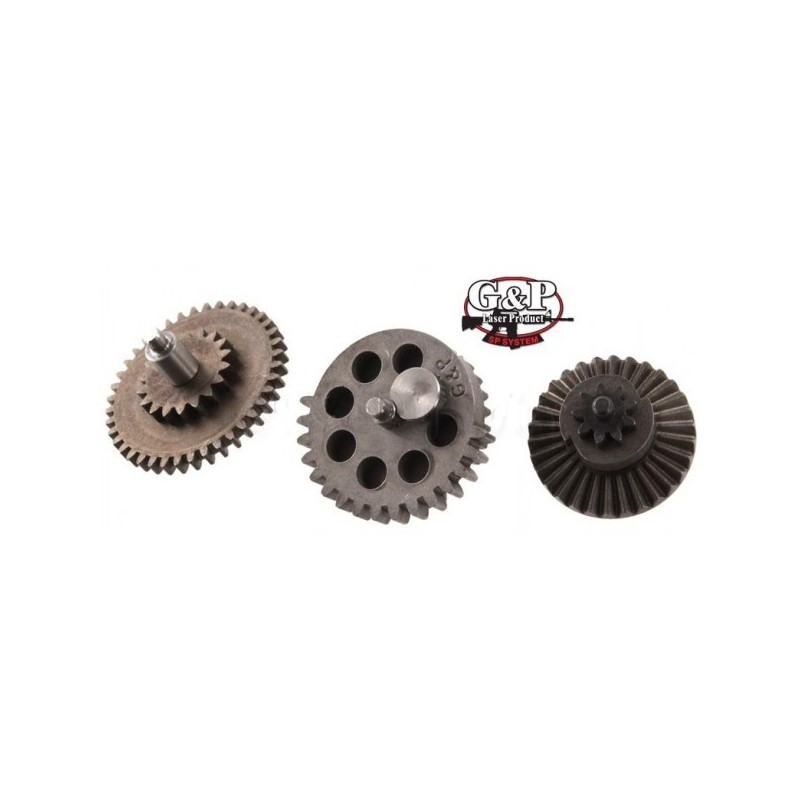 G&P Steel Flat Gear Set for M4/M16 Gearbox