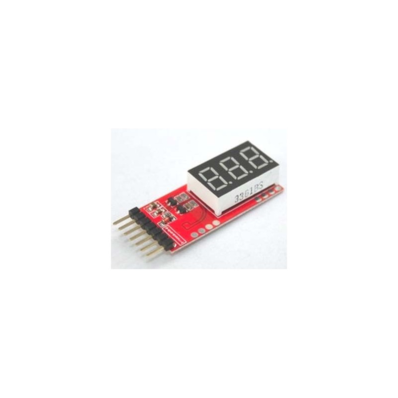 Low Alarm Indicator for 2s- 6s LiPo Checker Battery