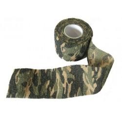 Camouflage fabric, woodland