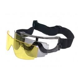 Goggles, GX-1000, 3 glasses