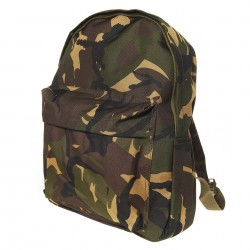Kids day pack camoflage woodland