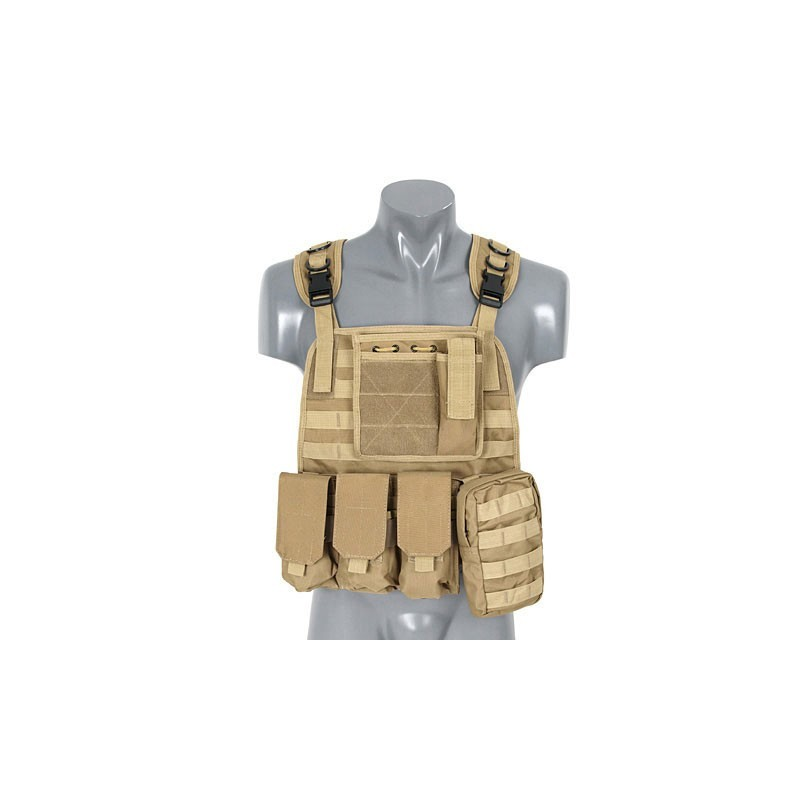 8Fields - Plate Carrier Harnes - Coyote