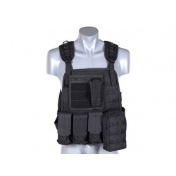 8Fields - Plate Carrier Harnes - Black