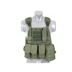 8Fields - Plate Carrier Harnes - Olive