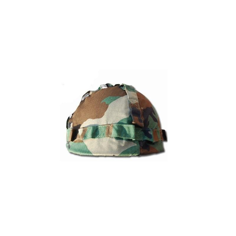 Kids helmet de luxe woodland