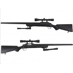 WELL VSR-10 Bolt Action Spring Rifle w/ Bipod & Scope