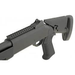 KOER Super-90 Combat Tri-Barrel Shotgun with Retractable Stock