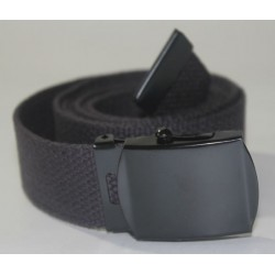 Web belt with black buckle Black