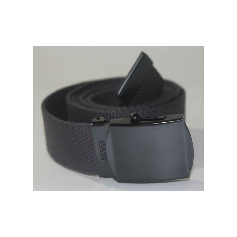 Web belt with black buckle Black