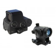 Red dot sights and holographic