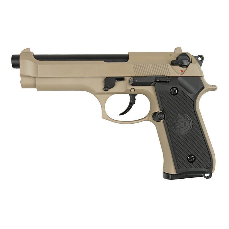 WE Beretta M92F Full Metal, GBB Pistol