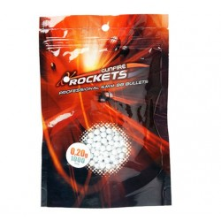 Rockets Professional 0,20g BBs 6mm - 1000rds