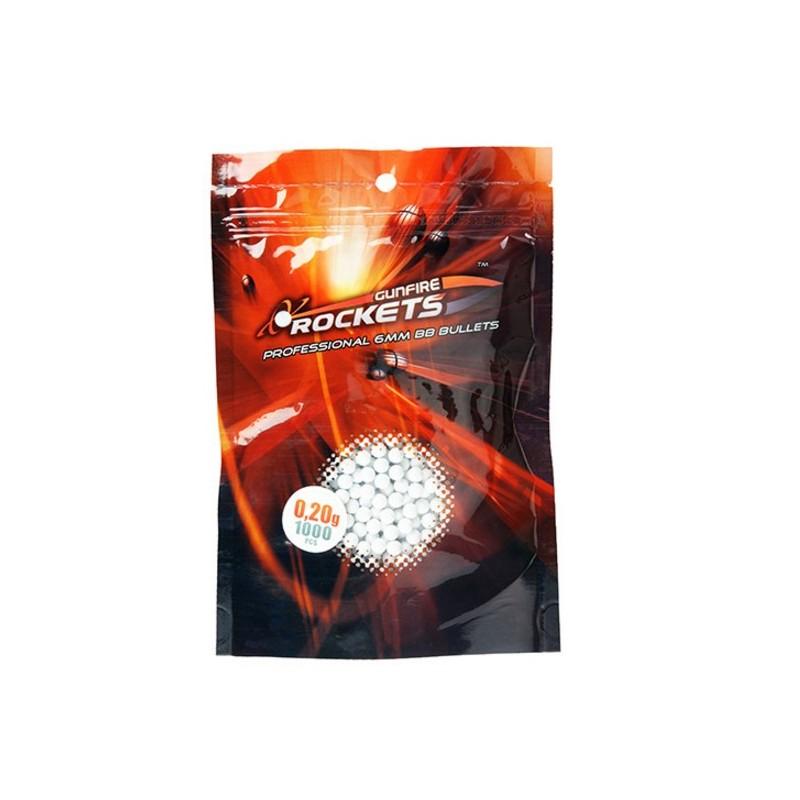 Rockets Professional 0,20g BBs 6mm - 1000rds