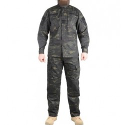 USMC Army Navy MultiCam Black ACU Uniform Set