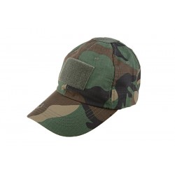 Velcro Patch Baseball Hat Cap Camo Woodland