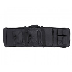 Double Rifle case 96cm long - Black