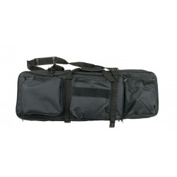 Double Rifle case 80cm - airsoft gun Black