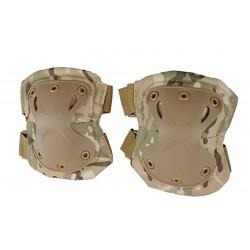 SWAT X-Cap Elbow & Knee Protective Pads Multi Camo
