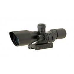 Scope 2.5-10x40 with laser for Airsoft