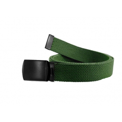 Web belt with black buckle...
