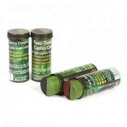 Bushcraft - Camo stick 2 color (green-black)
