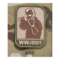 Mil-Spec Monkey Patch - WWJBD (ARID)