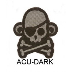 Mil-Spec Monkey Patch - SkullMonkey Pirate (ACU-D)