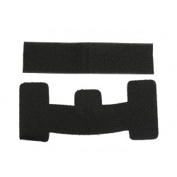Velcro set for Helmet Mod.1 - Black