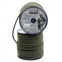 Fosco - Bungee cord 6 mm - 1 meter, Green
