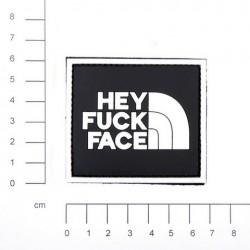 Patch 3D PVC Hey Fuck Face