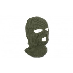 Mil-Tec, Winter Balaclava 3 Holes color Green